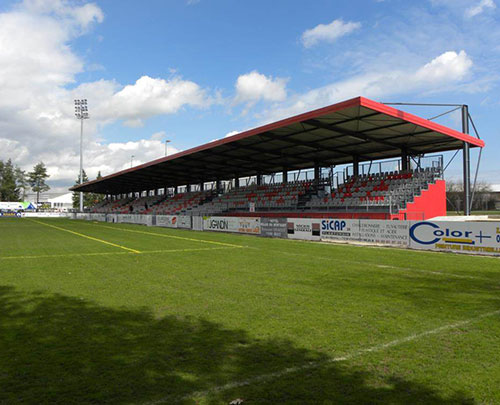 Extension de tribunes - Chalon Rugby