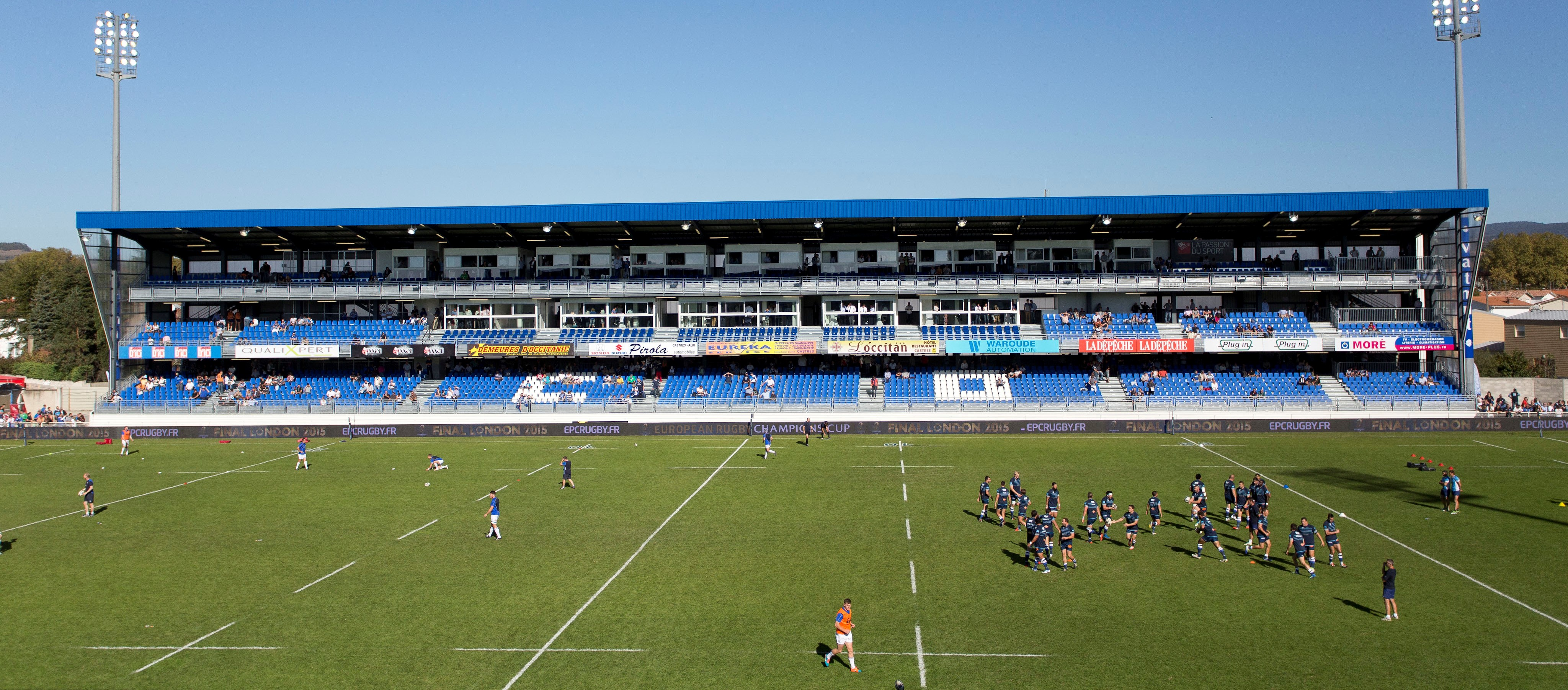 Modular stand of Castres Olympique