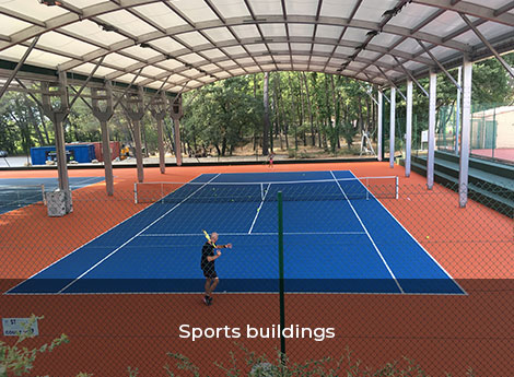 Sports buildings