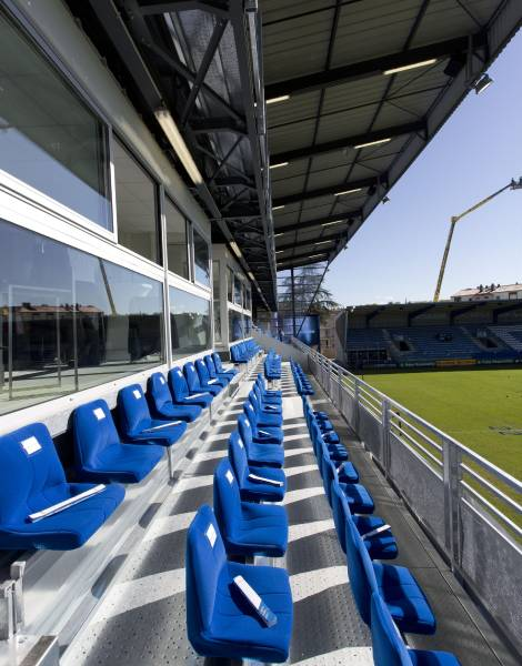 Extension de tribunes à Castres - Project Designer