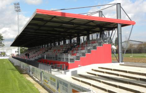 Extension of the stands - Stade Leo Lagrange