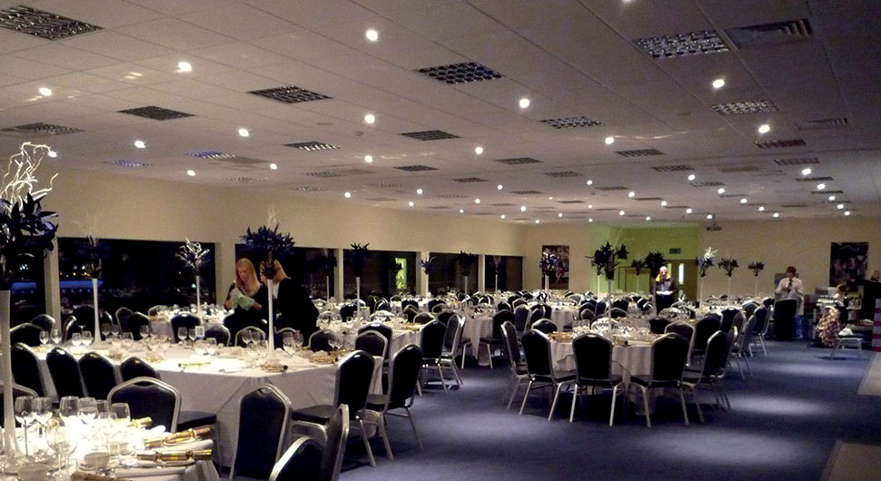 reception area in the sixways stadium